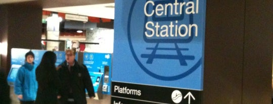 Melbourne Central Station is one of Social around the world.