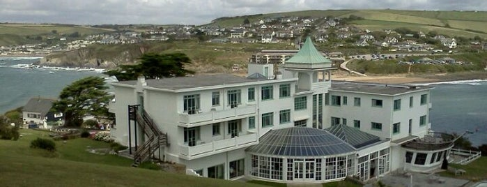 Burgh Island Hotel is one of 36 hours in... Devon.
