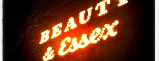 Beauty & Essex is one of My fave NYC eats.