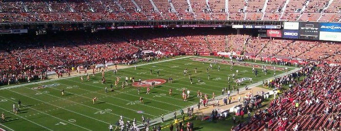 Candlestick Park is one of Great Sport Locations Across United States.