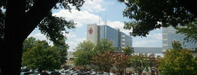 Gwinnett Medical Center-Lawrenceville is one of places.