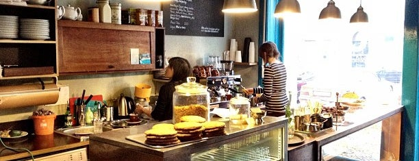 Katie's Blue Cat is one of Berlin's Best Coffee - 2013.