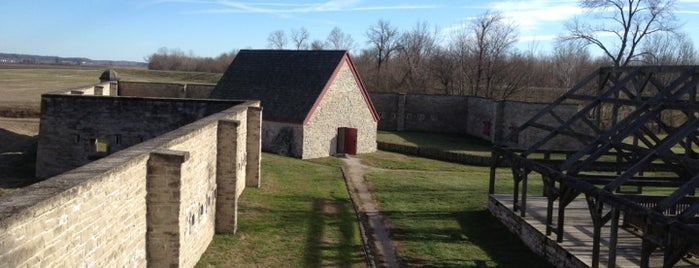 Fort de Chartres is one of Illinois: State and National Parks.