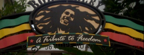 Bob Marley: A Tribute To Freedom is one of Universal Studios.