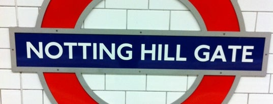 Notting Hill Gate London Underground Station is one of District Line.