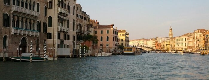 Canal Grande is one of Venice.