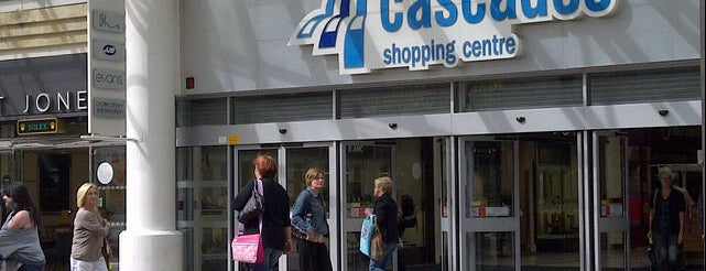 Cascades Shopping Centre is one of Top 10 favorites places in Portsmouth.