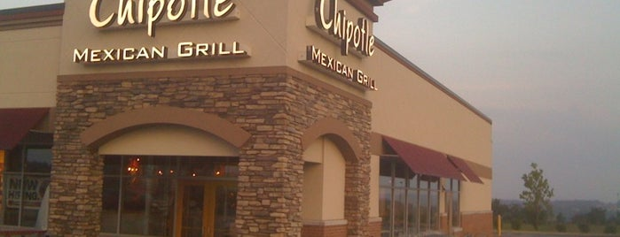 Chipotle Mexican Grill is one of Food joints.