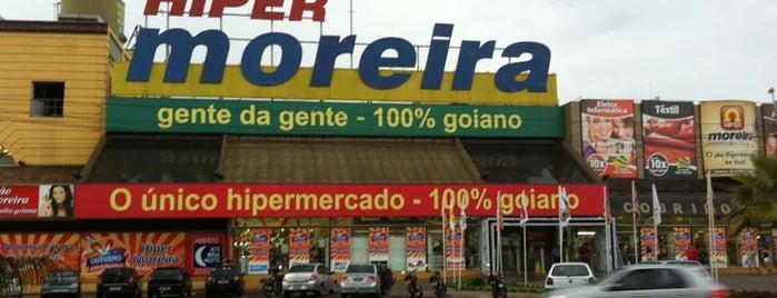 Hiper Moreira is one of Pontos Turisticos Essenciais Goiania.