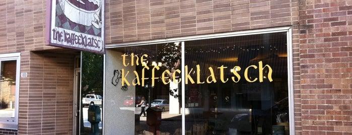 Kaffeeklatsch is one of Esquire's Best Bars (A-M).