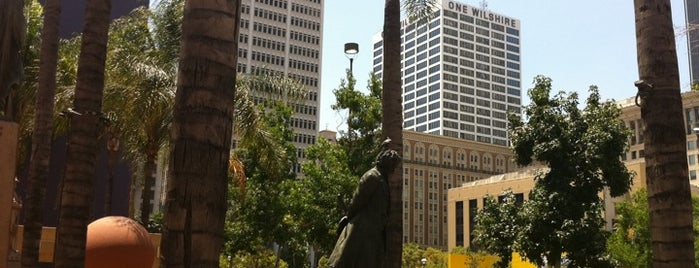 Pershing Square is one of The Great Outdoors in Los Angeles.