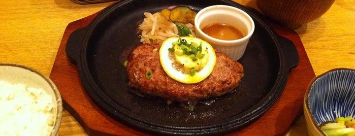 山本のハンバーグ 渋谷食堂 is one of 渋谷周辺おすすめなお店.