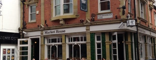 Market House is one of London bars.