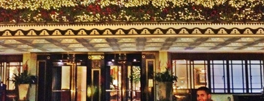 The Dorchester is one of A list.