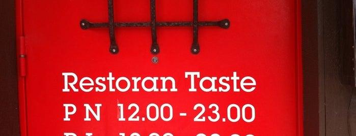 Taste Restoran is one of The Barman's bars in Tallinn.