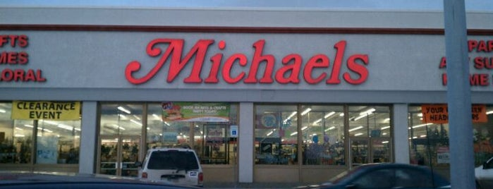 Michaels is one of Shopping.