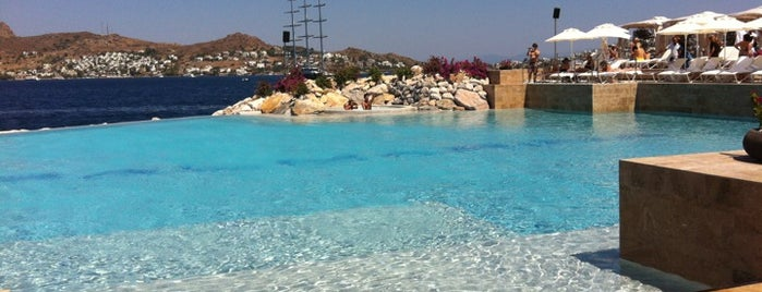 Billionaire Beach is one of Bodrum !!.