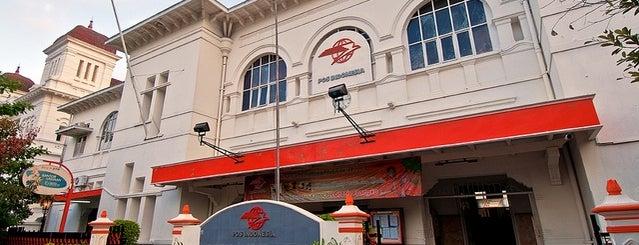 Kantor Pos Besar Yogyakarta is one of Yogjakarta, Never Ending Asia #4sqCities.
