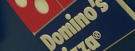 Domino's Pizza is one of A comer y a beber.