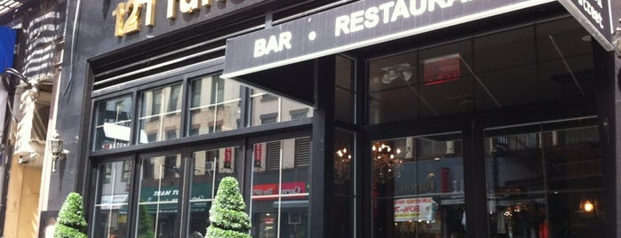 121 Fulton Street is one of Where to Eat in FiDi.