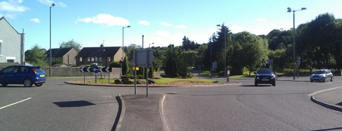Linden Ave. Roundabout is one of Named Roundabouts in Central Scotland.