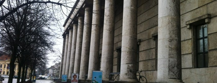 Haus der Kunst is one of StorefrontSticker #4sqCities: Munich.