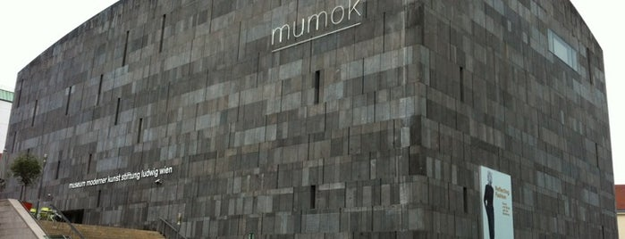 Mumok - Museum Moderner Kunst Stiftung Ludwig Wien is one of StorefrontSticker #4sqCities: Vienna.