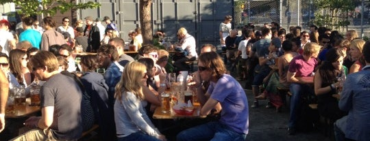 Biergarten is one of San Francisco City Guide.