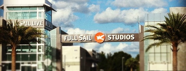 Full Sail University is one of Cool Orlando Geek Spots.