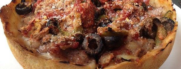 Lou Malnati's Pizzeria is one of Chicago Deep Dish Dozen.