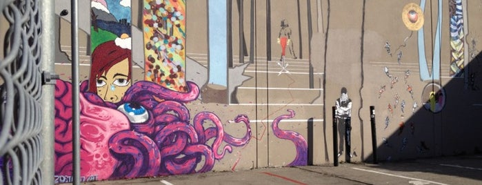 Banksy Mural: 'Bird Singing In Tree' is one of San Francisco.