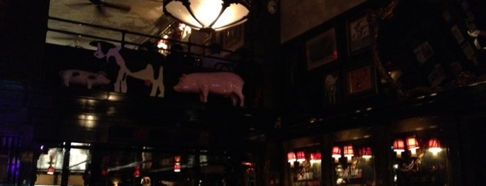 The Breslin Bar & Dining Room is one of NYC.