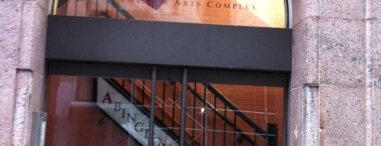 Abingdon Theater is one of Manhattan Theatres.