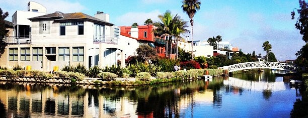 Venice Canals is one of LA fun.