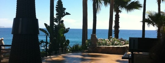 Agua is one of The best Hotel bars in Cabo San Lucas..