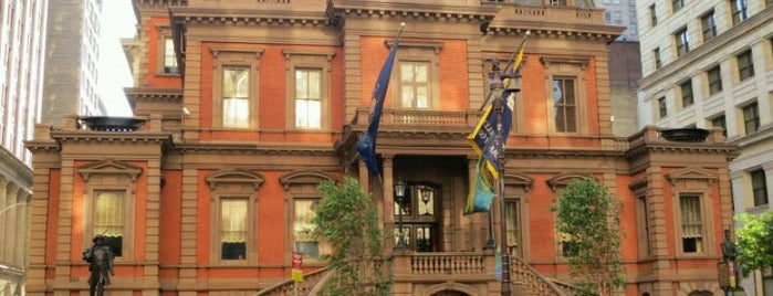 The Union League of Philadelphia is one of Alyssa's Philly Life.