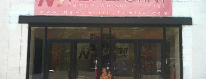 New Destiny Family Worship Center is one of Holy places.