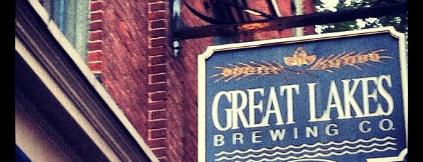 Great Lakes Brewing Company is one of cleveland.