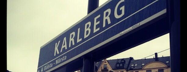 Karlberg (J) is one of SE - Sthlm - Pendeltåg.
