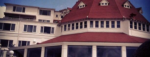 Hotel del Coronado is one of Paranormal Traveler.