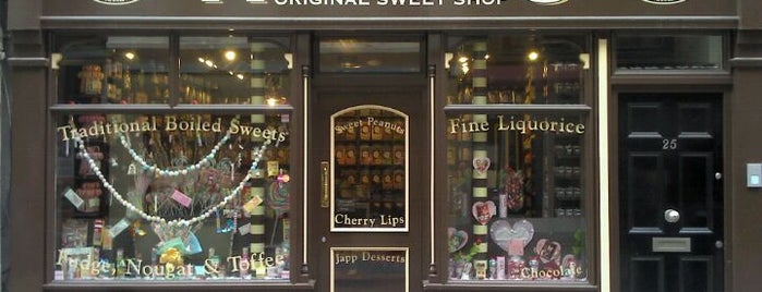 Sweets shops in London