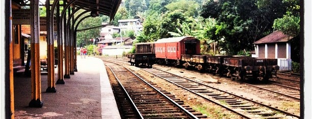 Peradeniya Railway Station is one of Railway Stations In Sri Lanka.