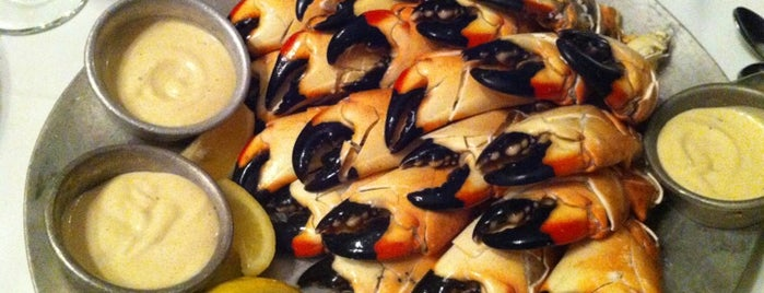 Joe's Stone Crab is one of Manliest Restaurants 2012.