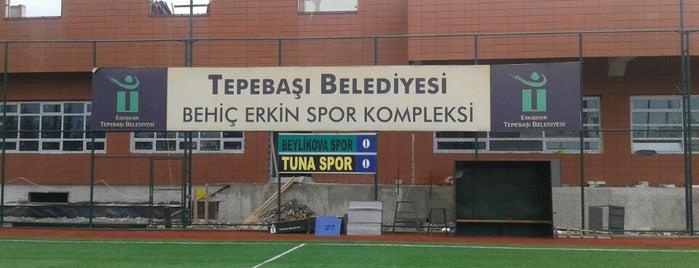 Behiç Erkin Spor Kompleksi is one of Eskişehir Stadyum ve Futbol Sahaları.
