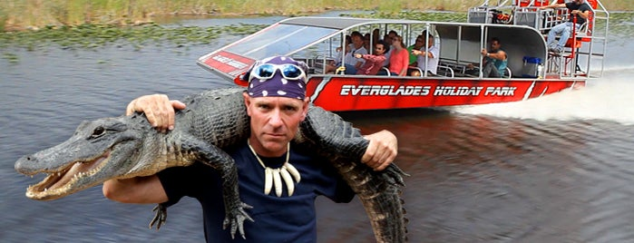 Everglades Holiday Park is one of Must Do for First Timers #VisitUS.