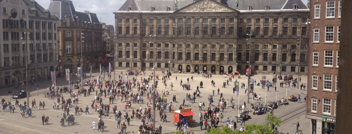 Dam Square is one of Amsterdam.