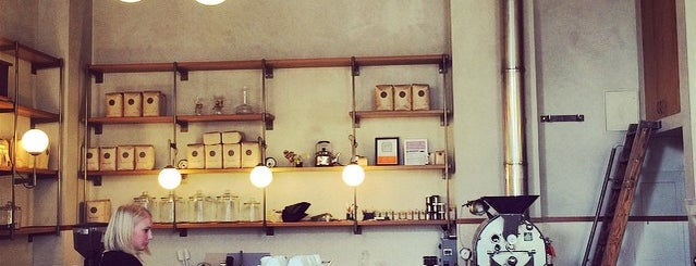 Sightglass Coffee is one of Coffee shops in SF.