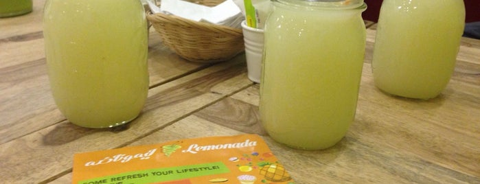 Lemonada is one of my best places in Erbil.