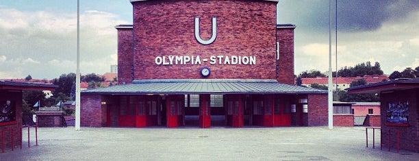 U Olympia-Stadion is one of U-Bahn Berlin.
