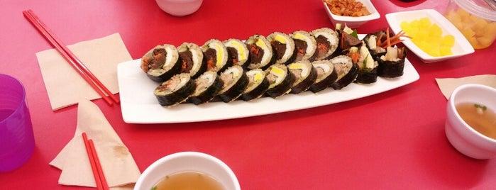 로봇김밥 is one of Itaewon food.